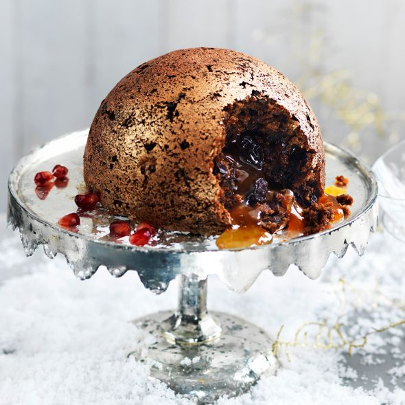 Heston Blumenthal has announced his new Waitrose Christmas pudding