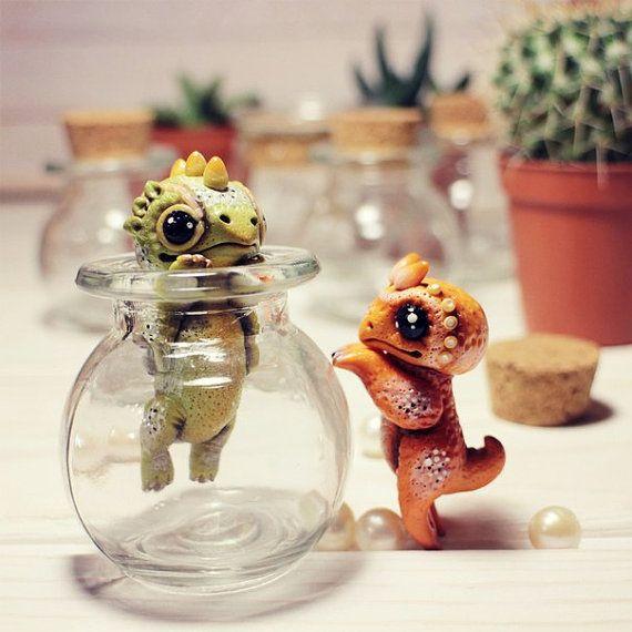 Personalized Gift Art Personalized Art Dragon Doll Dragon Ooak Art Fantasy…