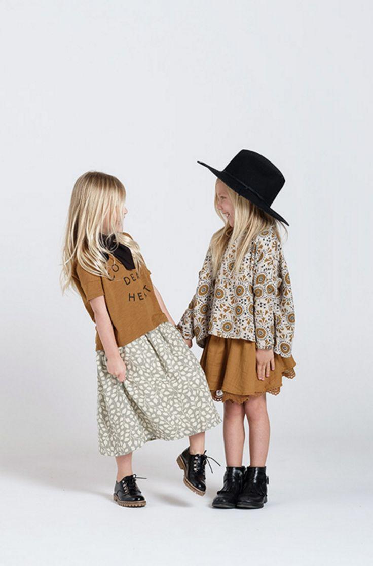 Leaf Midi Skirt | Rylee + Cru