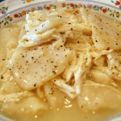 Cracker Barrel Homemade Chicken and Dumplings @keyingredient #chicken