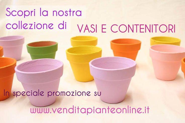 Scopri la nostra ricca collezione di VASI sul nostro negozio online! http://www.venditapianteonline.it/categoria/vasi/