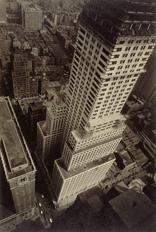 Berenice Abbott (American, 1898 – 1991)  'Untitled (New York City)'  1929-33  Gelatin silver print, 6 1/2 x 4 7/16 inches  PhiladelphiaMuseumof Art