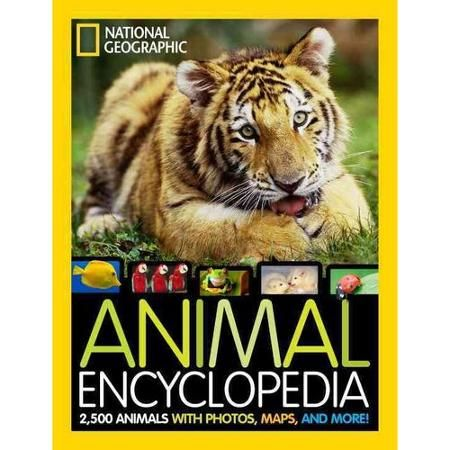 National Geographic Animal Encyclopedia: 2,500 Animals with Photos, Maps, and More! - Walmart.com