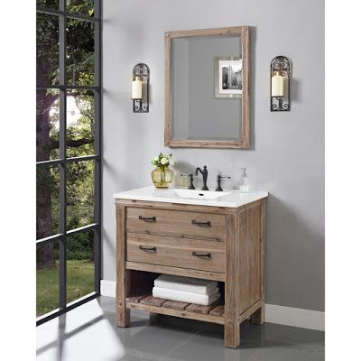 This Is Not The Pottery Barn Benchwright Vanity And It