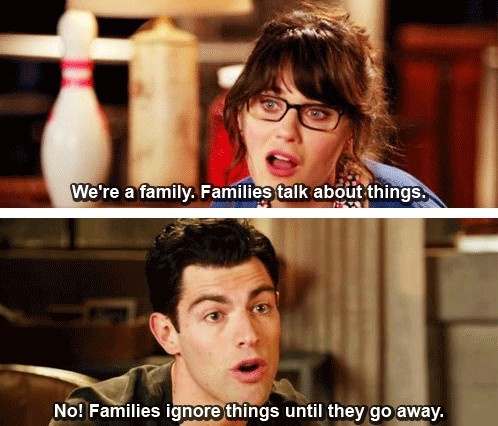 So my family! Nothing is a secret for long!