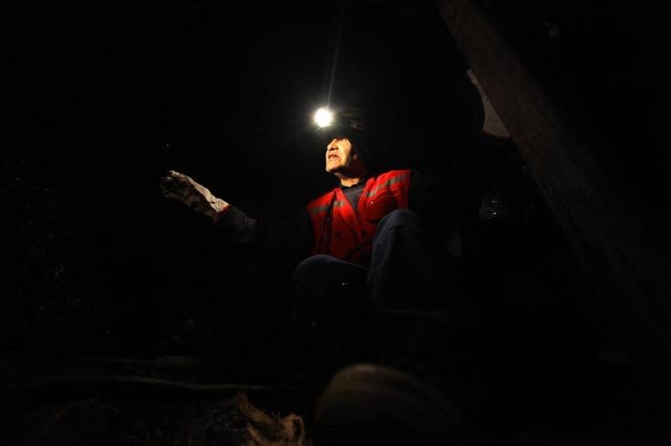 Tour por la antigua mina de carbon ubicada en Lota, pais Chile   Foto:Alfonso Diaz