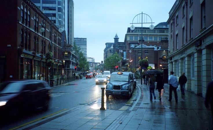 Birmingham England, broad street