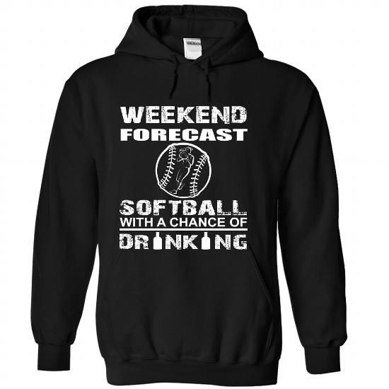 Softball - #gift for guys #gift for girls. ORDER HERE => https://www.sunfrog.com/Funny/Softball-Black-68507665-Hoodie.html?60505