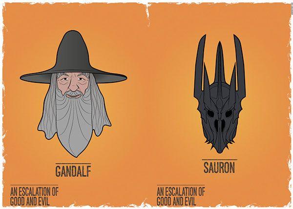 GANDALF - SAURON