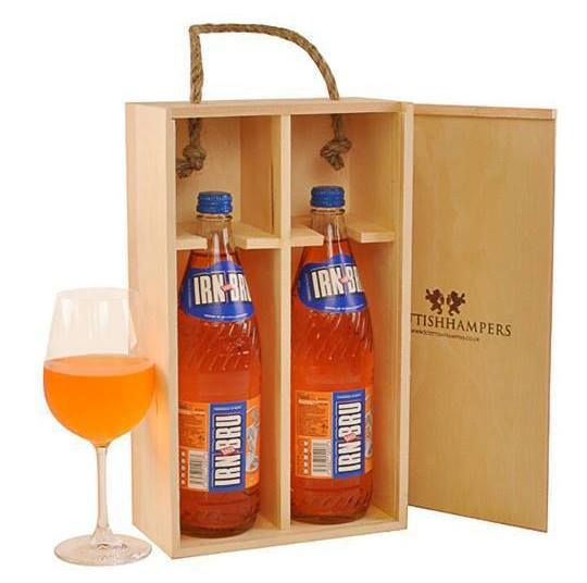 Scottish food 1: Irn Bru, the drink that is more popular in Scotland than Coca Cola...