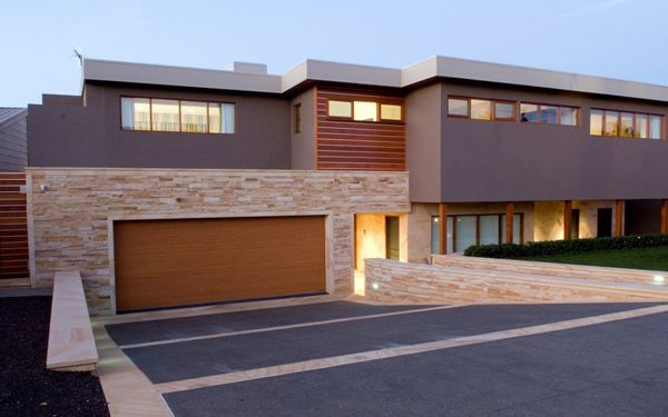 Wall Cladding - Mount White Brown Sandstone