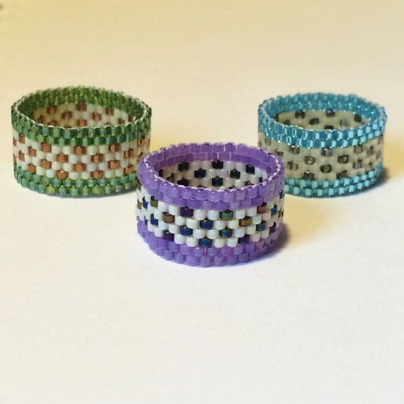 Prati fioriti Band Peyote Stitch regalo conveniente dell