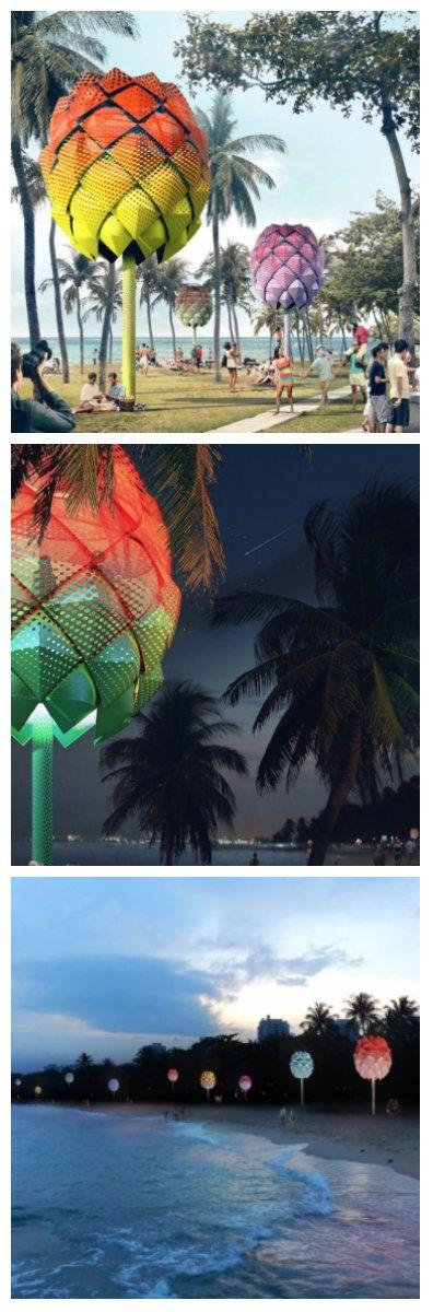 Знаете ли вы, что мусорное пятно в большом Тихом океане в два раза больше площади Франции? Количество мусора сбрасываемого в океан, в частности пластика, просто поражает. Дизайн-студия SPARK представила один из способов решения этой проблемы, предложив красивое и функциональное решение – пляжные домики на солнечных батареях. #светодиоды #подсветка #освещение #дом #светодиоднаяподсветка #светодиодноеосвещение #свет #освещениепомещений #дизайн #светодизайн #уличноеосвещение