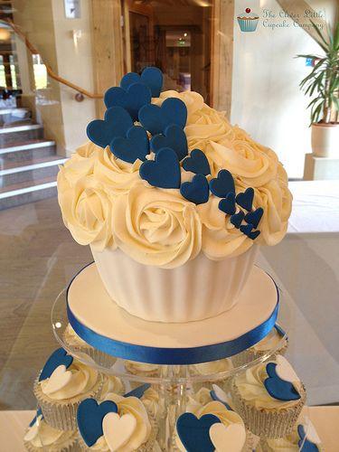 Giant Cupcake (wedding)