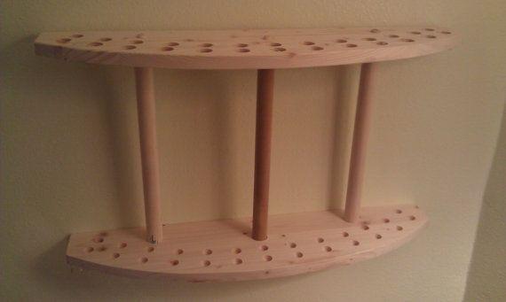 drum stick display drumstick holder solid natural cedar wood holds 13 drum sticks great for. Black Bedroom Furniture Sets. Home Design Ideas