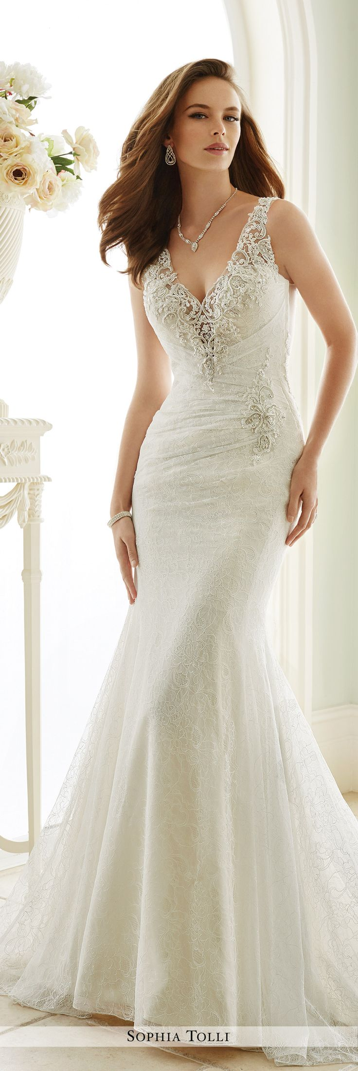 17 best images about sophia tolli wedding dress collection for Sophia tulle wedding dress