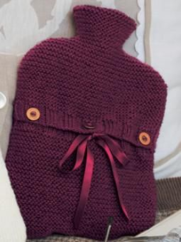 Hug Hottie hot water bottle cover diy