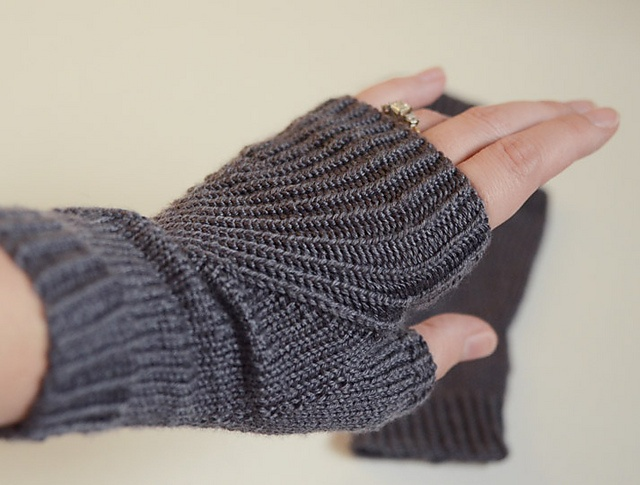 1000+ images about Knit Adult Mittens,Fingerless gloves ...