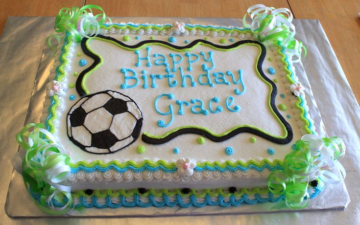 Soccer Birthday on Cake Central
