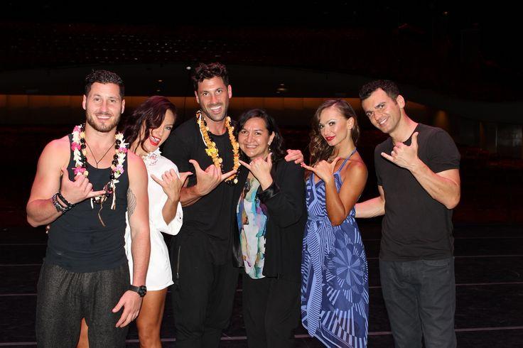 Val, Sharna, Maks, Karina & Tony #bwat - Hawaii 19/08/14 ...