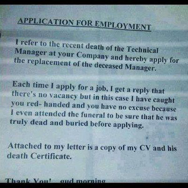 A Foolproof Way To Apply For A Job If They Happen To Be Hiring