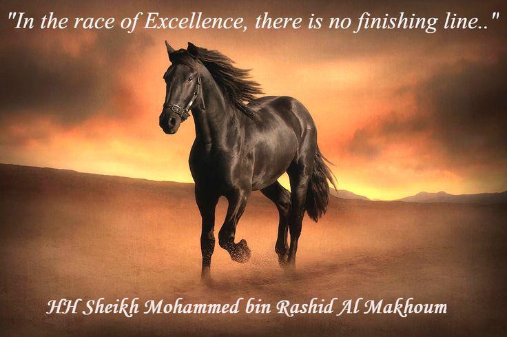 """In the race of Excellence, there is no finishing line..."" HH Sheikh Mohammed bin Rashid al Maktoum #Leadership #Drive #Mindset #Goals #Motivation #QOTD #Dubai #Watani #MyDubai #UAE #دبي #الإمارة #الوطني #MyDubai"