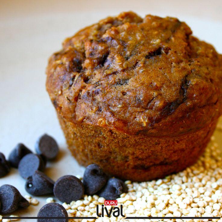 Süt veya portakal suyu eşliğinde muffininizi tadarken, ne pazartesi ne sendrom dinleyin. :)  İlgili tarif için; www.durulezzetler.com'u ziyaret edin. #kinoa #kinoalıtarifler #durulezzetler #durubulgur #durulival #quinoa #muffin