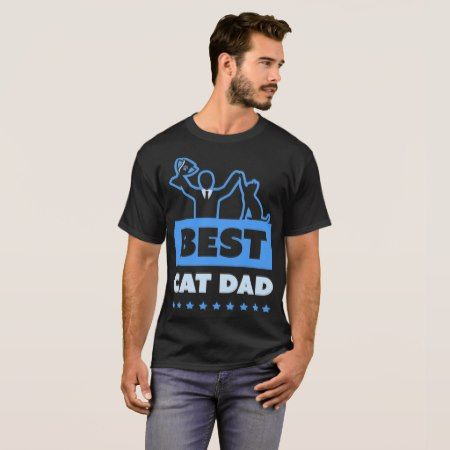 Best Cat Dad T-Shirt - tap to personalize and get yours
