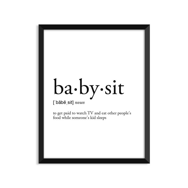 17 Best Babysitting Quotes On Pinterest