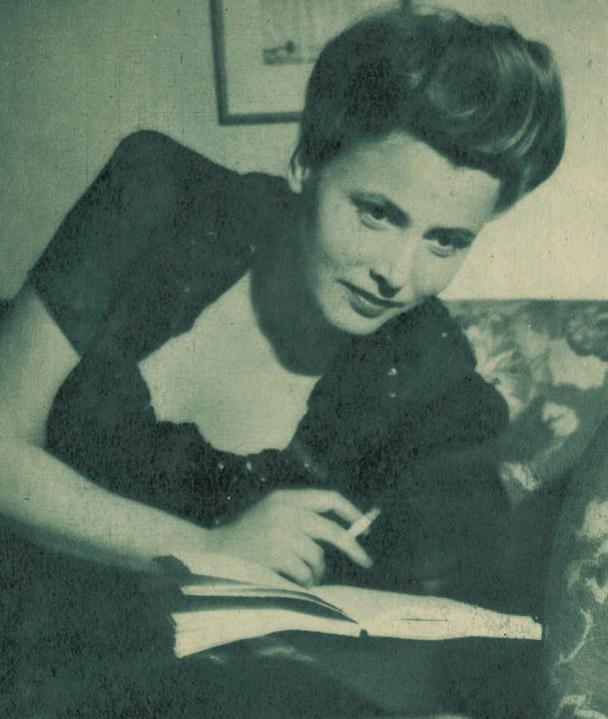 Tengroth i Damernas Värld 1944.
