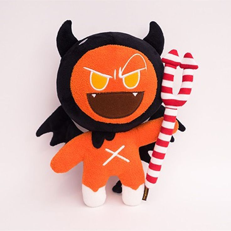 Korea Moblie Game Cookie Run Character Plush Doll 30cm 12in Devil Cookie #Cookierun