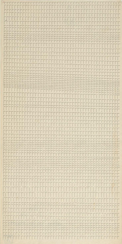 insolvent-architect:  Lettera 10 dell'alfabeto della mente, 1979, drawing by Dadamaino, ink on paper, 46 × 23 cm