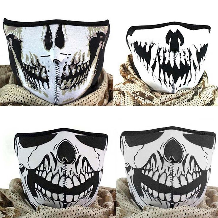 1.78$  Buy now - http://ali9oj.shopchina.info/go.php?t=32794891154 - Multifunction Cosplay Bike Skeleton Mask Costume Halloween Mask Cycling Motorcycle Paintball Half Face Mask Winter  JL  #aliexpresschina