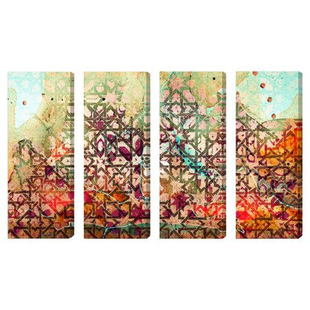 Set Of 4 Canvas Prints
