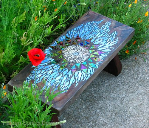 Excitantia Bench, Hidden Springs Designs. Rob Matthews and Leslie Guinan