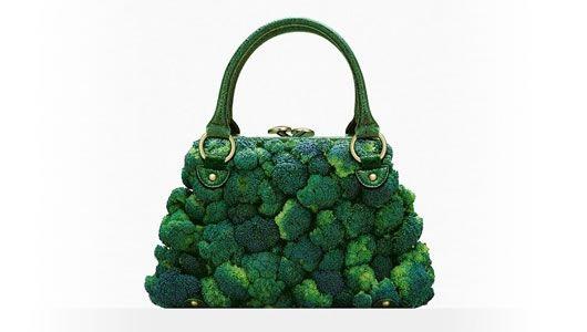 A broccoli purse....exactly.