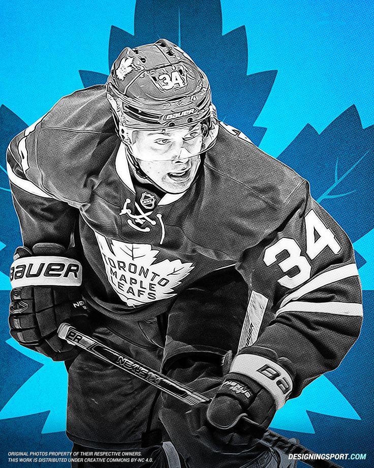 Auston Matthews, Toronto Maple Leafs - Designing Sport