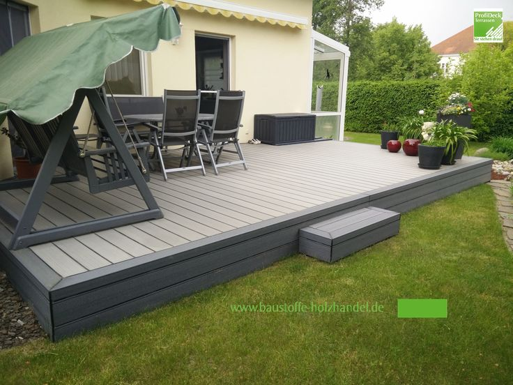 19 besten garten terrassen aus upm profi deck. Black Bedroom Furniture Sets. Home Design Ideas