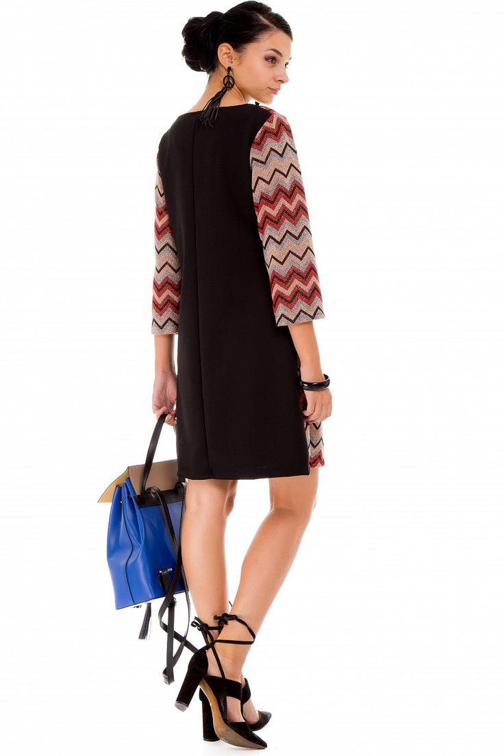 Женское платье с люрексом Pronto Moda J0974