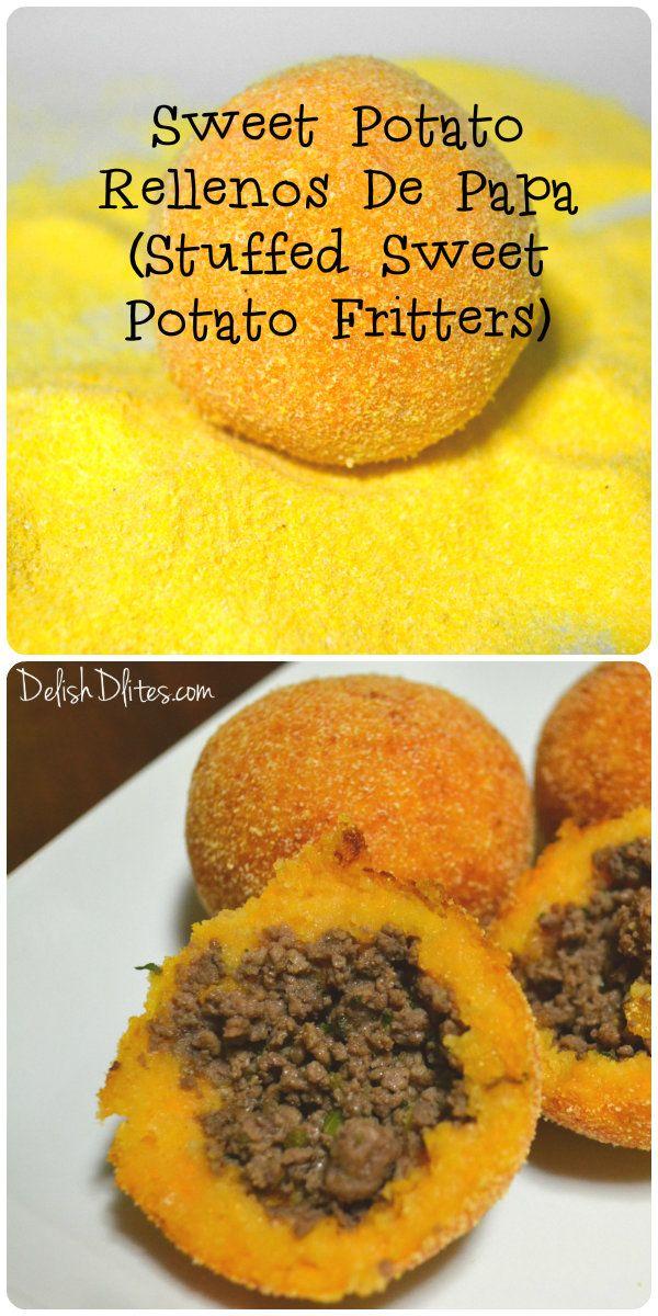 RECETAS...❤ Sweet Potato Rellenos De Papa | Delish D'Lites