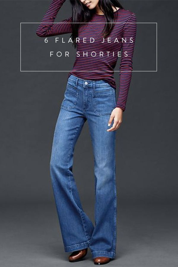 The best flared jeans for short legs. Here's our guide!