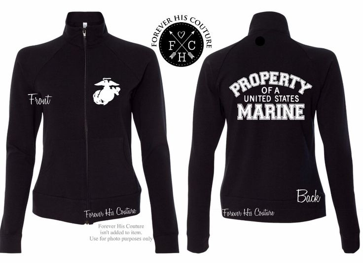 USMC Girlfriend Marine Girlfriend USMC Wife Marine Wife Usmc Mom Marine Mom Marine Sister Usmc Sister Property of a US Marine Zipup jacket by ForeverHisCouture on Etsy https://www.etsy.com/listing/481718891/usmc-girlfriend-marine-girlfriend-usmc