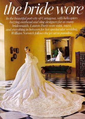 Lauren Davis + Andres Santo Domingo - Constance Zahn   weddings