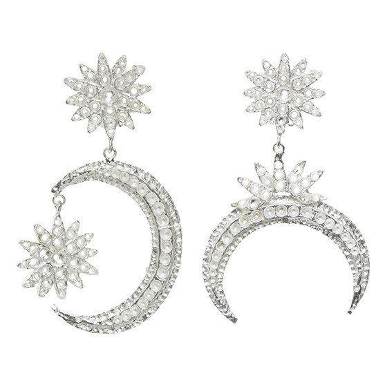 Aries Earrings Silver