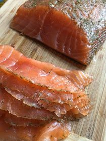 Perfect Citrus Cured #Salmon # Recipe --easy and a million times better than the store bought stuff.