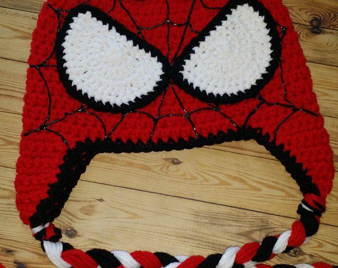 Crochet Spiderman Hat Crochet Kids Hats Crochet Hats