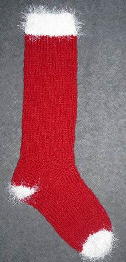 Easy Christmas Stocking Knitting Patterns Free : 17 Best ideas about Knitted Christmas Stockings on Pinterest Knitted christ...