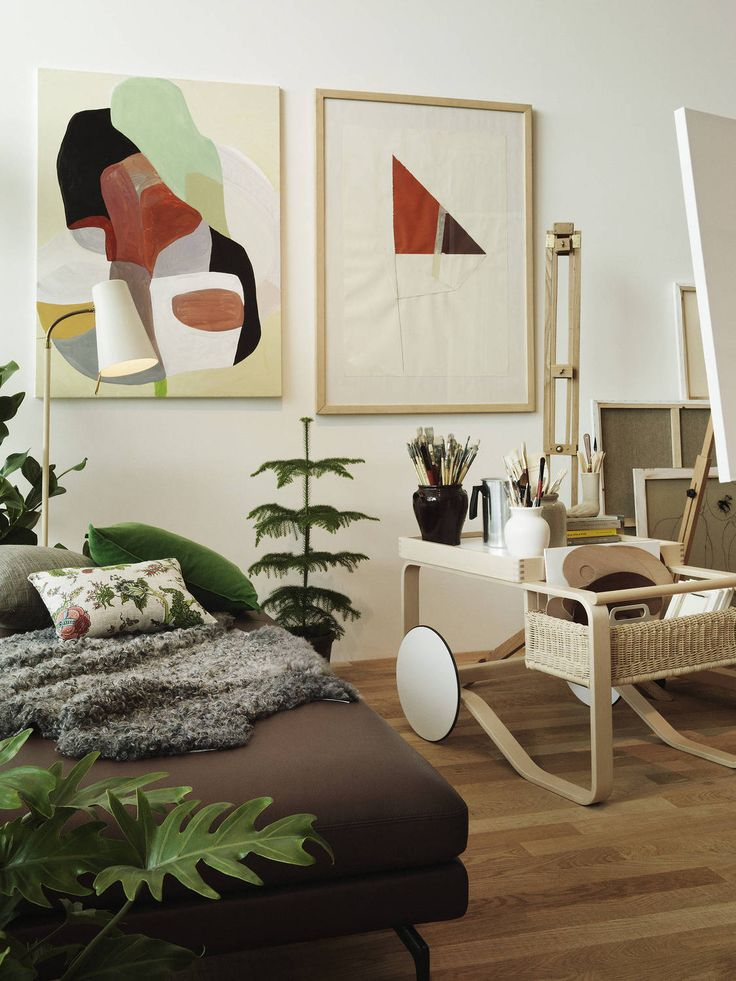 Homes that reflect the character of their owners - albeit imaginary ones Studio-Ilse-Vitra-Artek-vitrahaus