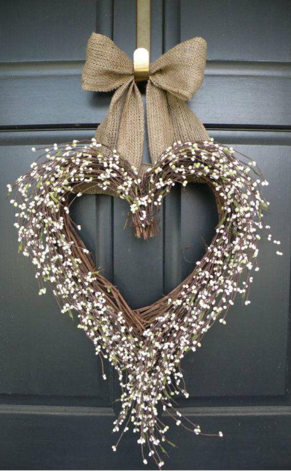 WREATHS FOR WINTER HEART WREATH MW