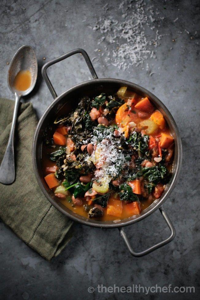 Teresa Cutter Ribollita - hearty veg soup